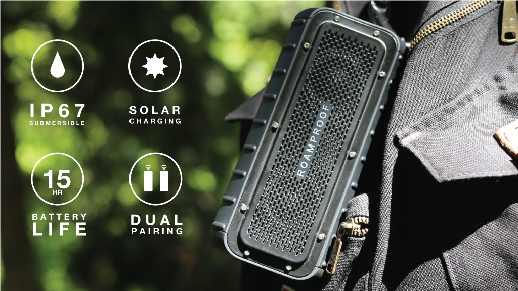 MacroBoom || The Most Rugged Solar Speakers On Earth project video thumbnail