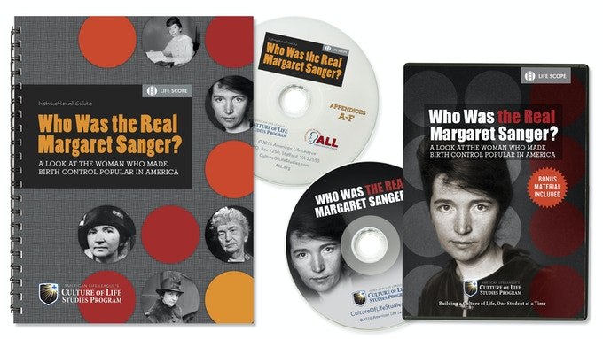 Who Was the Real Margaret Sanger? Package (final design subject to change)