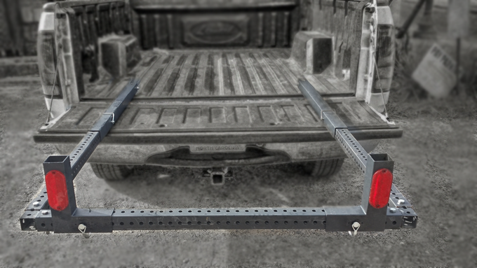 Calendar Extender Design : Tailgator the all purpose truck bed extender by elite