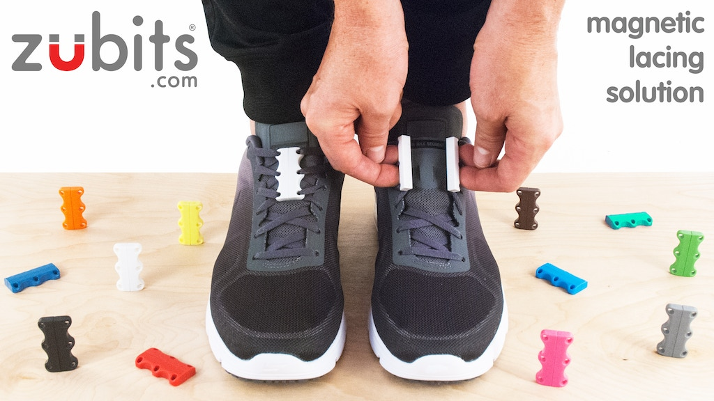 Never tie laces again! ZUBITS magnetic lacing solution 2.0 project video thumbnail