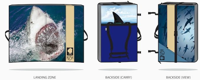 Custom Shark Pad