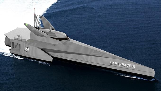 Earthrace-2 Design Render