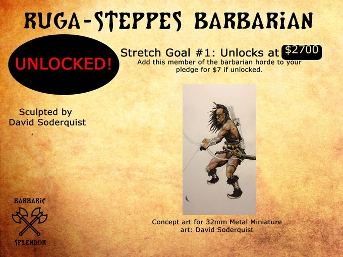 Unlocked! Add to your pledge for $7.