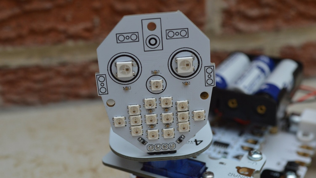 McRoboFace project video thumbnail
