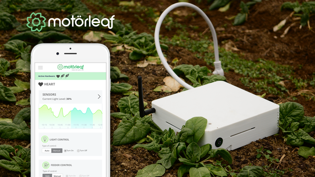 Motorleaf: Turn any indoor grow into a smart, connected grow project video thumbnail