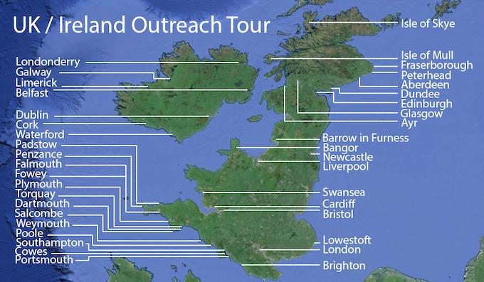 Outreach Tour UK/Ireland