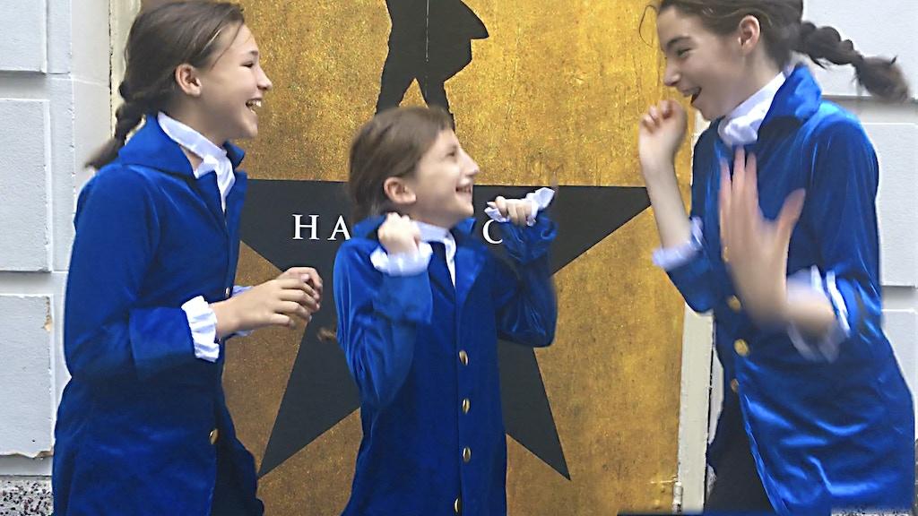 Kids Kickstart to make HAMILTON zine—Join the Journey project video thumbnail