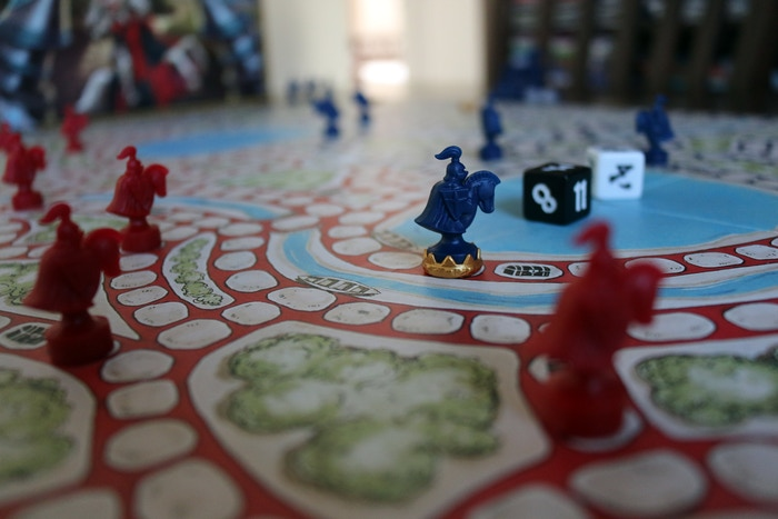 Capture is a strategy board game with a classic feel and tactically rich game play... plus catapults!