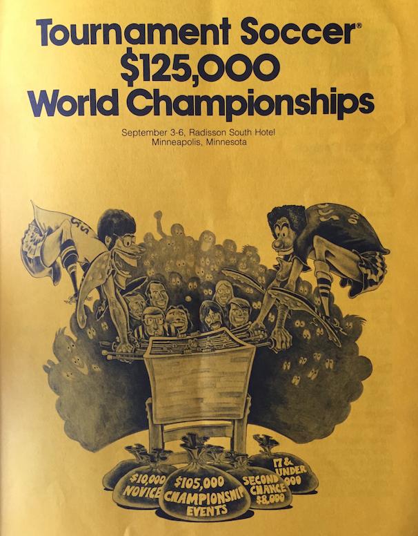 Tournament Soccer Ad - 1976
