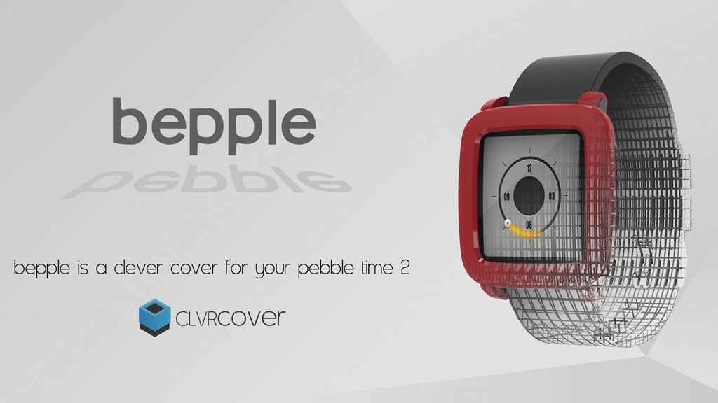 Bepple Covers 2! Personalize and Protect your Pebble Time 2 project video thumbnail