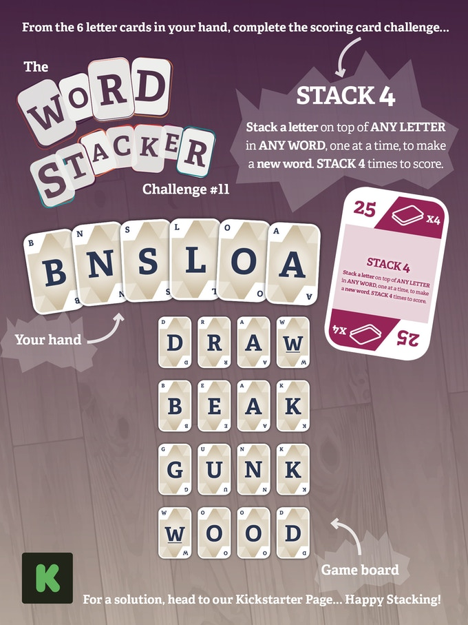 The WordStacker Challenge #11