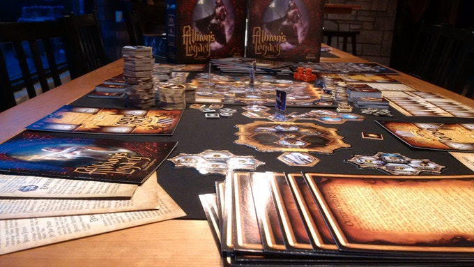 Sample of retail game with all 7 expansions!