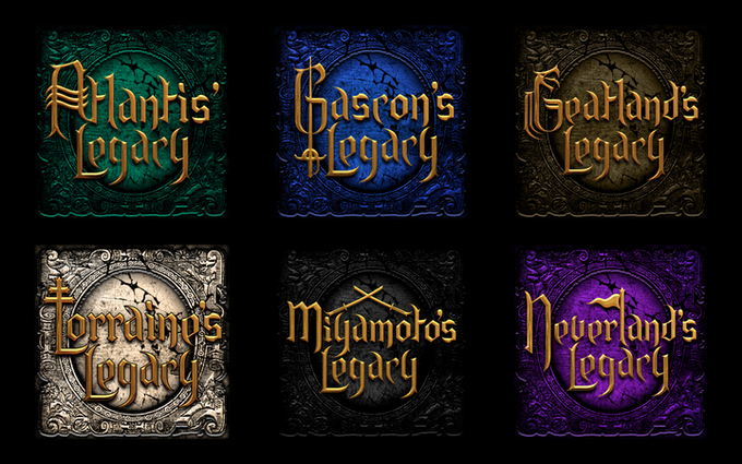 Future developed Legacy games