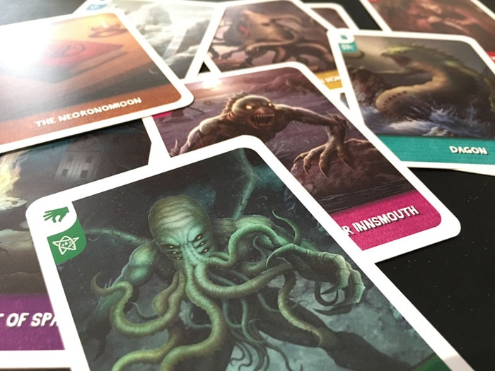 Be the first player to complete the Mythos in a fun game with 110 cards for 2-4 players with handmade collector pieces.