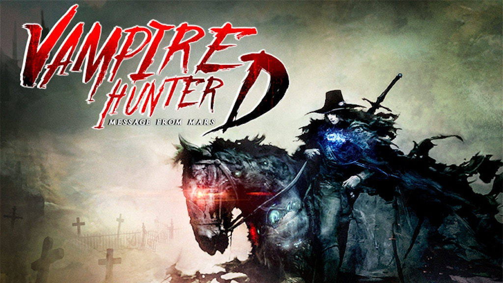 Vampire Hunter D: Message from Mars project video thumbnail