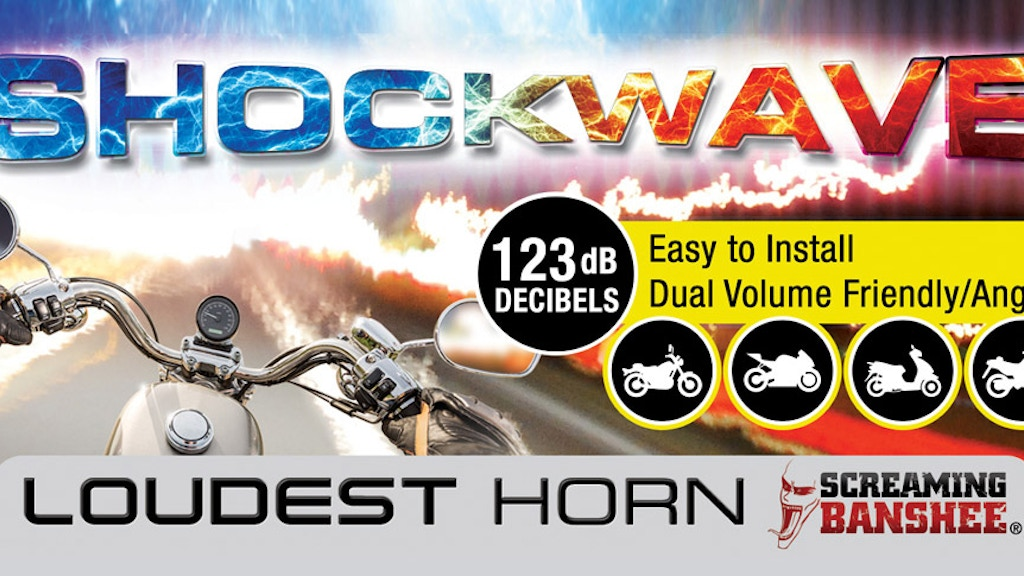 SHOCKWAVE – The First Smart Motorcycle Warning System project video thumbnail