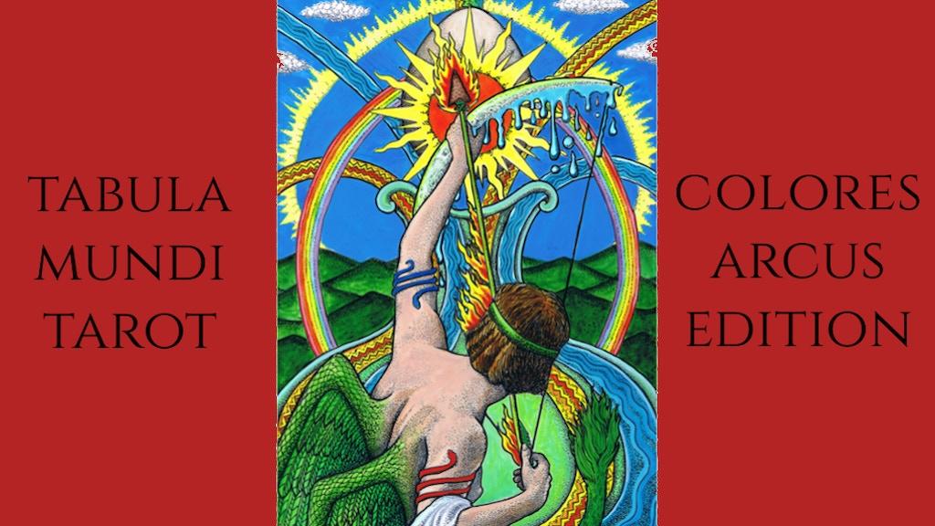 Tabula Mundi Tarot Colores Arcus: esoteric Thelemic deck art project video thumbnail