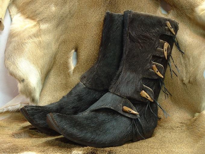 Black Hersir boots