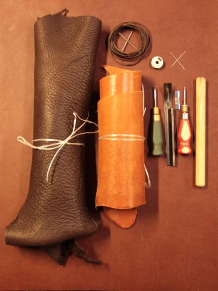 A few essential tools and materials