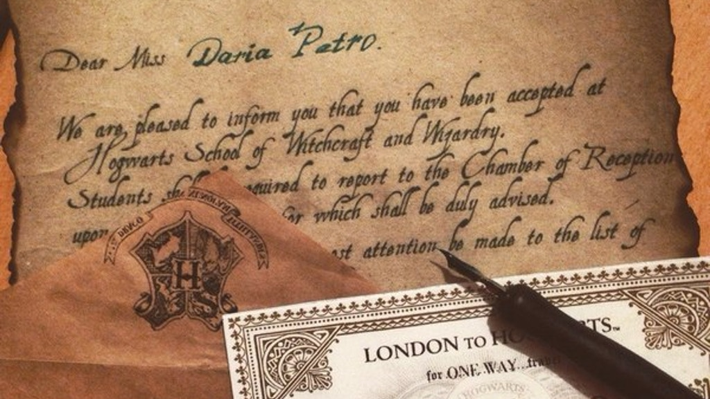Project image for Letter from Hogwarts