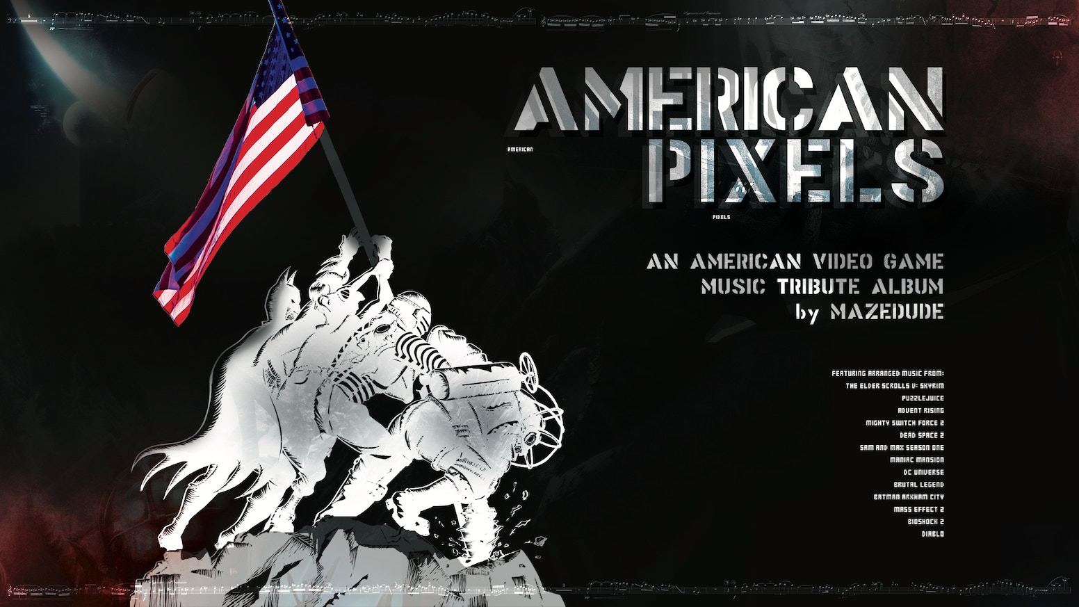 Mazedude presents an arranged album of game music, honoring American composers and featuring several guest performers