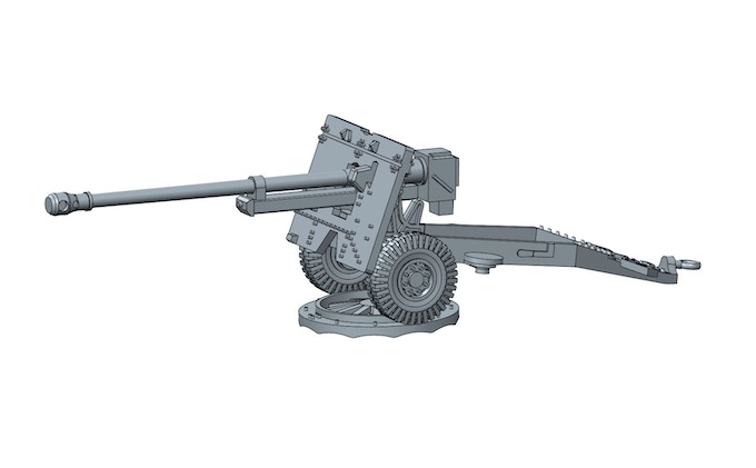 PSC WW2 British 25 pounder artillery and tractor kit by Will