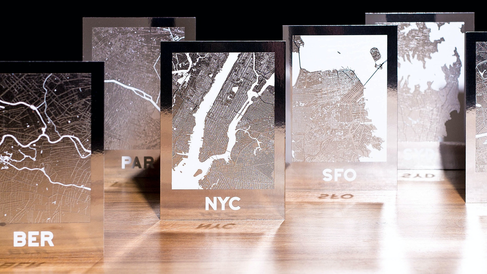 City Map Posters Reflecting Your Urbn City Love By Primedesigner