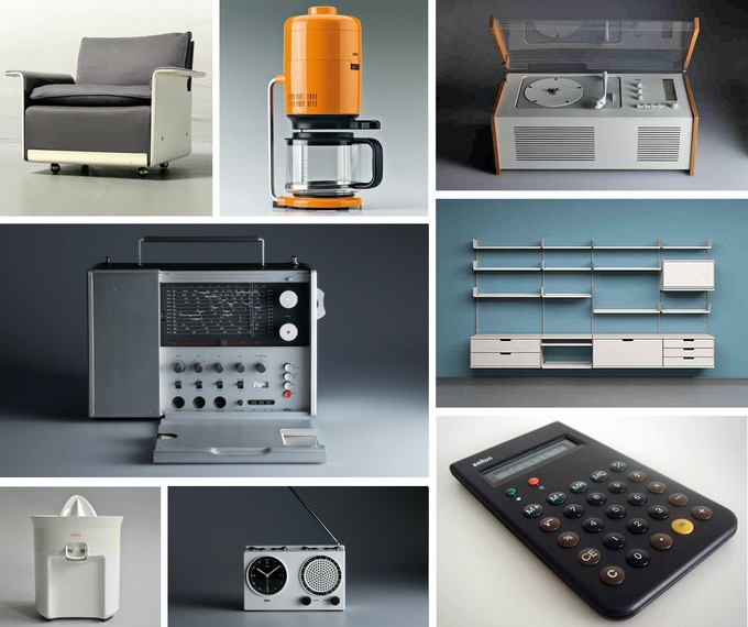 A few of the over 500 products Rams has designed or overseen the design of