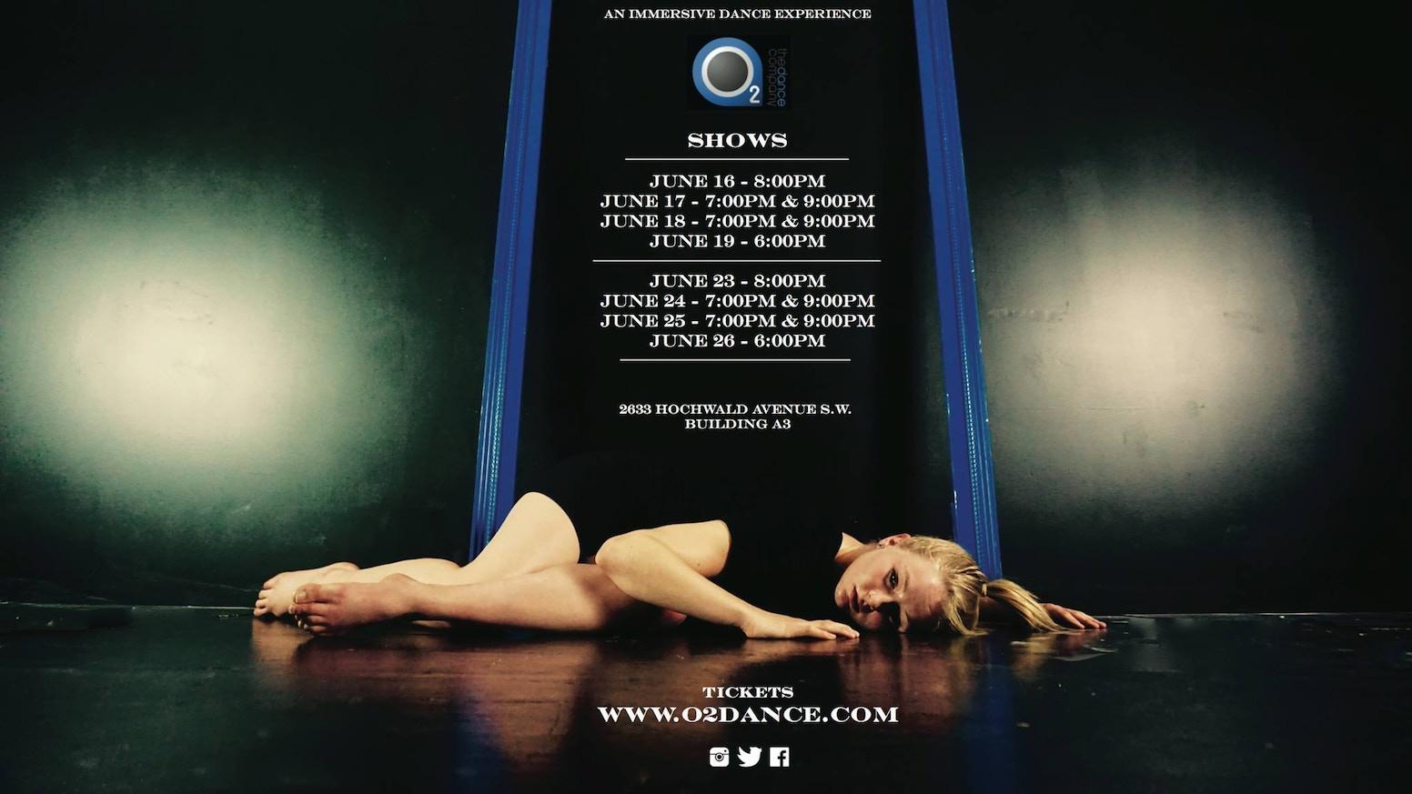 Pieces by O2 The Dance Company » Community — Kickstarter