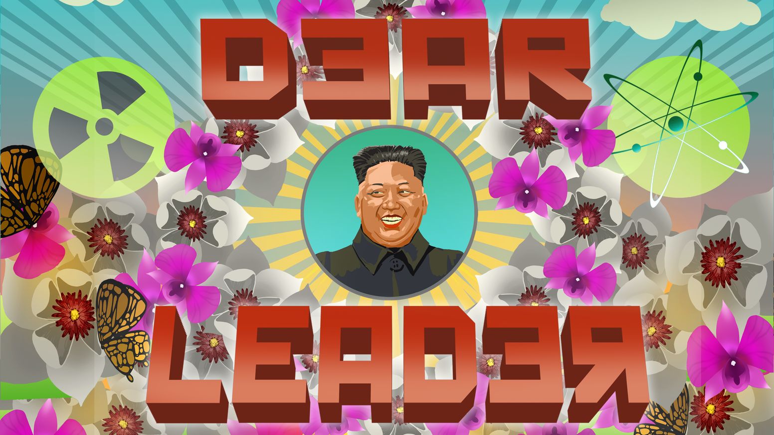 A bootlicking, clapping, problem-making party card game about the awfulness of dictators.