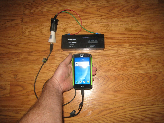 Cell phone charging