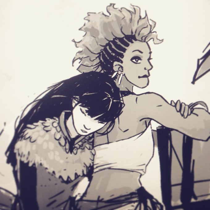New characters, HEATHEN, Volume 2