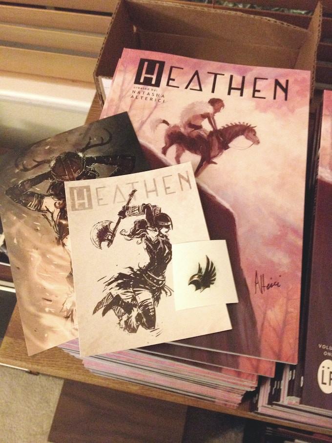 Rewards from the HEATHEN, Volume 1 Kickstarter