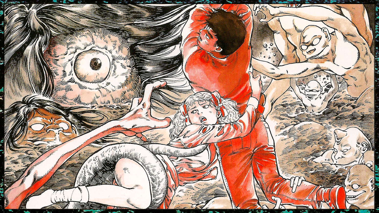 We've teamed up with Toshio Maeda to publish a completely remastered edition of Urotsukidoji - Legend of the Overfiend.