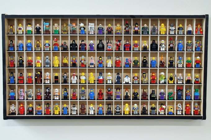 The Figure Display is beautiful and helps you keep track of all your favorite mini-figures.