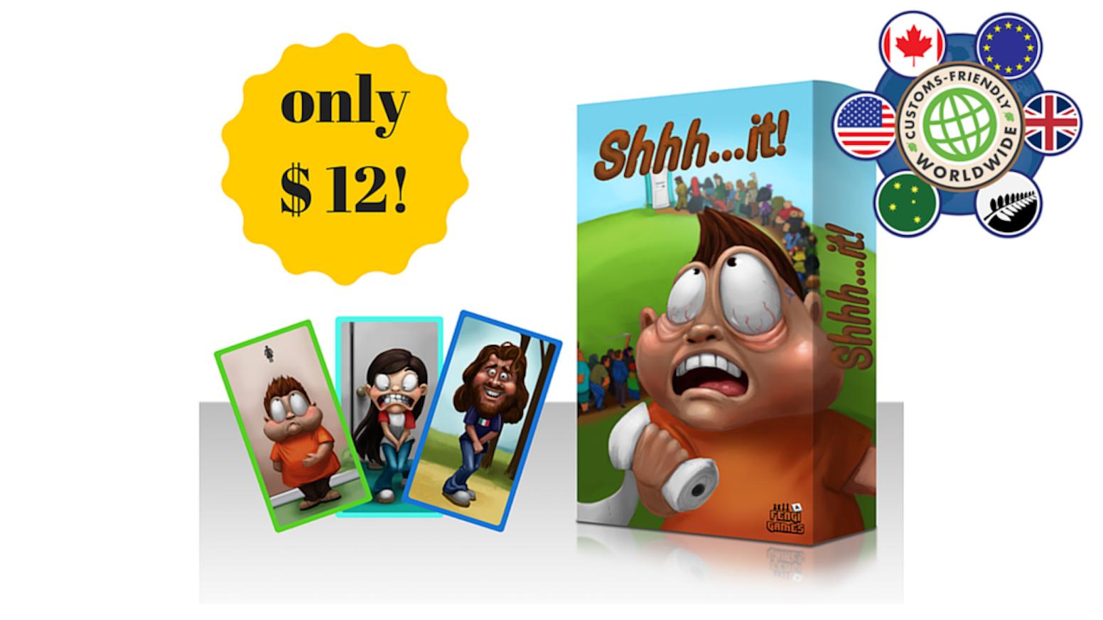 shhhit the foolish card gamefengi games — kickstarter