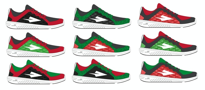 05e281d9d46 We are creating the first world-class Kenyan running shoes based on the  advice