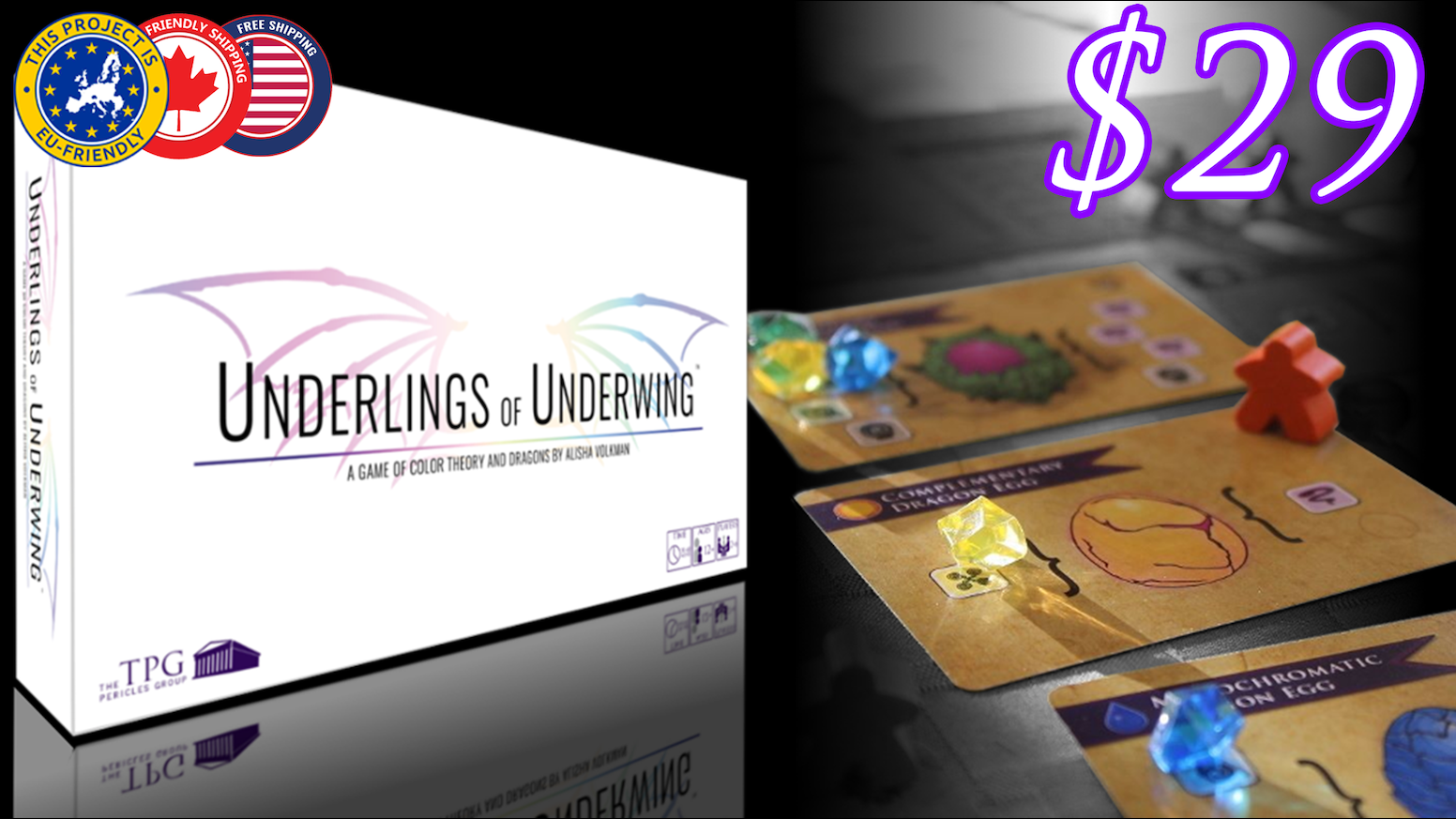 Game color theory - Underlings Of Underwing Is An Award Winning Worker Placement Game In Which You Infuse