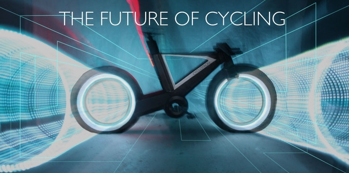THE CYCLOTRON BIKE - Revolutionary Spokeless Smart Cycle by