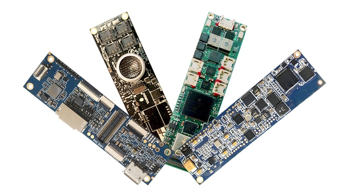 Interchangeable electronics for powerful upgrades