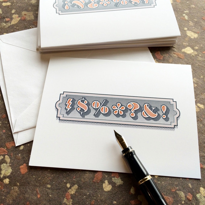 Note cards to help you rage while maintaining your place in polite society.