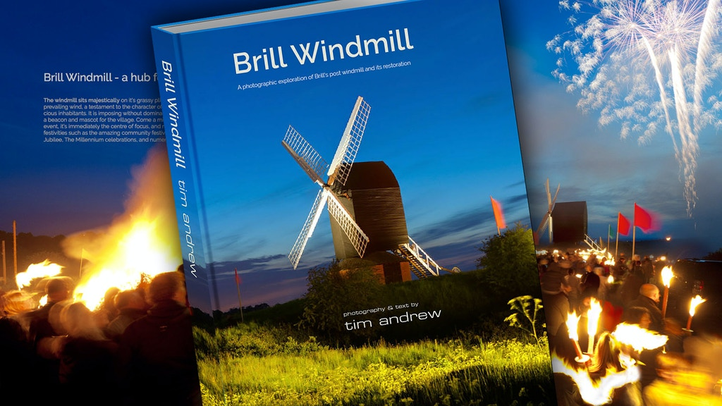 Brill Windmill - a hardback photographic coffee table book project video thumbnail