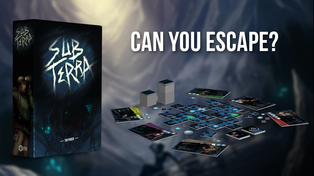 Sub Terra: a Cooperative Survival Horror Game for 1-6 Cavers project video thumbnail