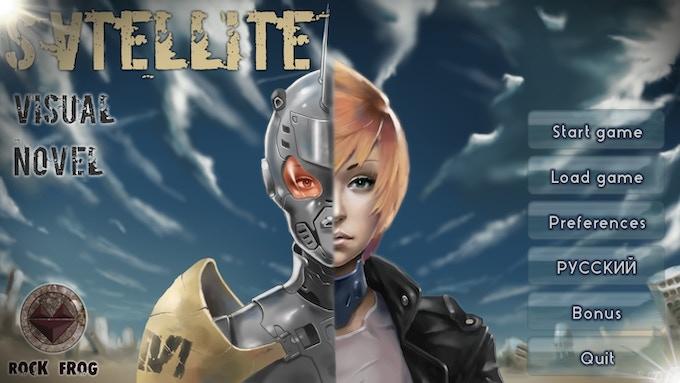 Satellite (Visual Novel, 18+) by 7DOTS — Kickstarter