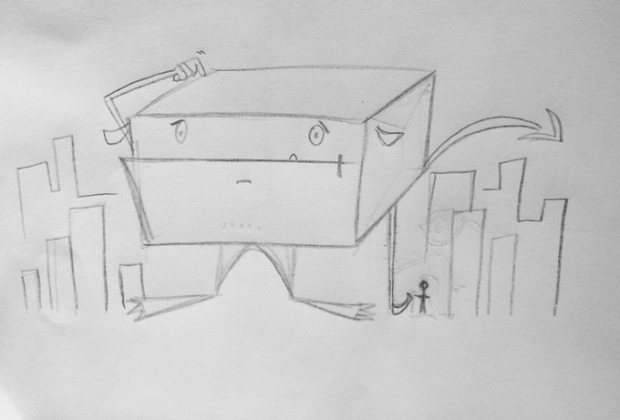 The First Sketch of Amazocalypse