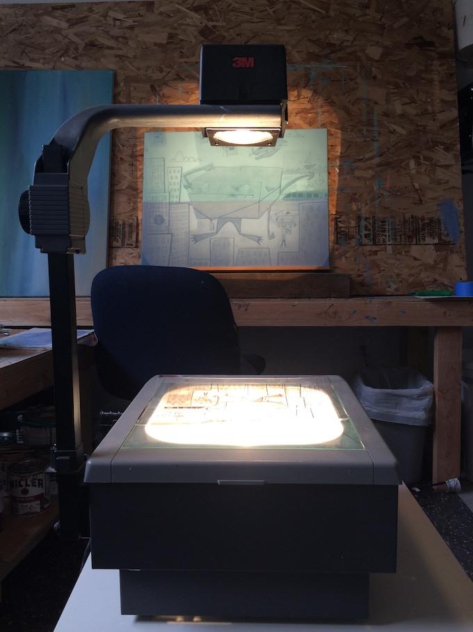 Megan's Workshop Setup