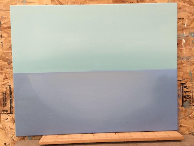 Painting Begins