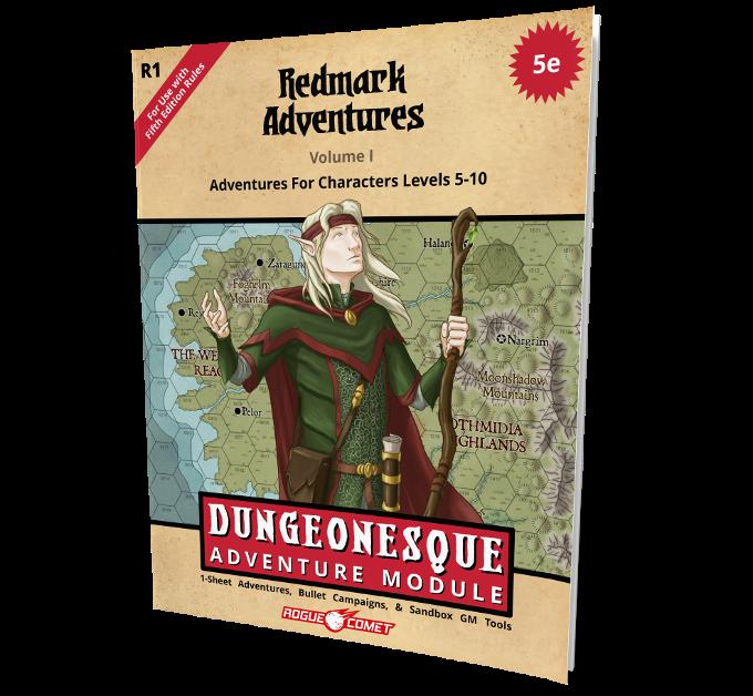 40 page old-school adventure module