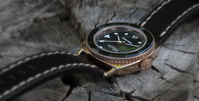 "316L Stainless Steel Nereus V - ""Rose Gold"" - 4TS Quartz(TM)"