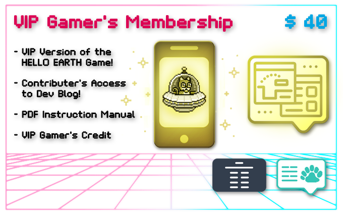(No physical rewards, but you can Add-On any non limited edition items!)